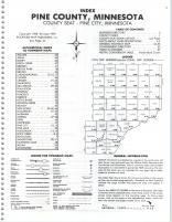 Index Map, Pine County 1980